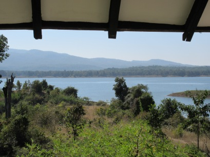 View from the terrace of the cottage